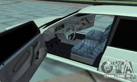 ВАЗ 2114 Tuning para vista lateral GTA San Andreas