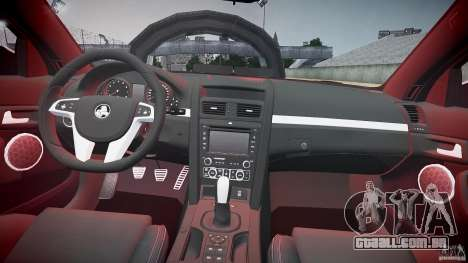 Holden Commodore (FBINOoSE) para GTA 4 vista superior