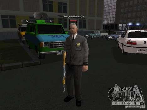 Peles de milícia para GTA San Andreas sétima tela