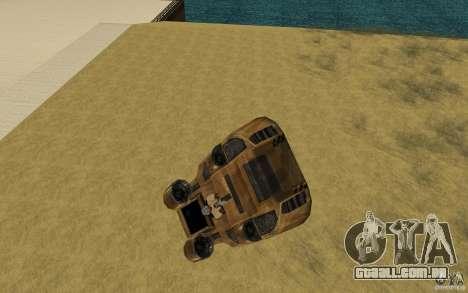 O vórtice do jogo comando e Conquer Renegade para GTA San Andreas vista direita