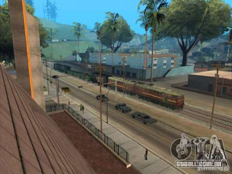 2te10u-0211 para vista lateral GTA San Andreas