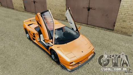 Lamborghini Diablo SV 1997 v4.0 [EPM] para GTA 4 vista inferior