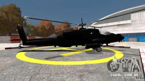 Hunter para GTA 4 esquerda vista