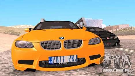 BMW M3 E92 para o motor de GTA San Andreas