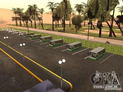 5 ônibus v. 1.0 para GTA San Andreas oitavo tela