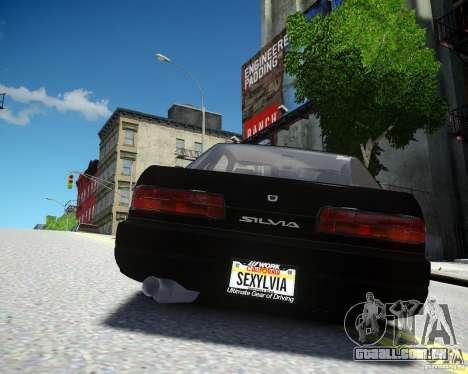 Nissan Silvia S13 para GTA 4 vista direita