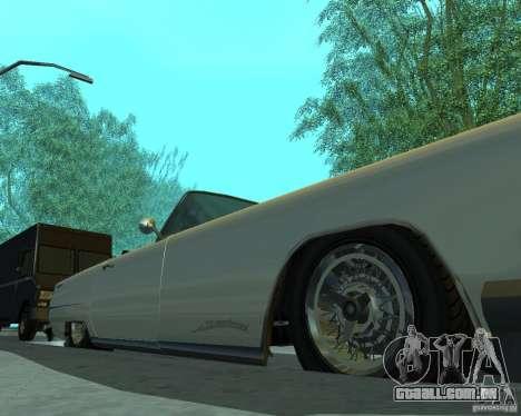 Peiote de GTA 4 para GTA San Andreas vista traseira