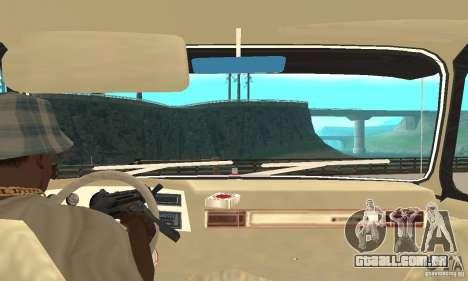 Chevrolet Blazer K5 Monster Skin 1 para GTA San Andreas vista direita