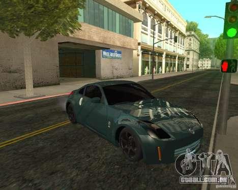 Nissan 350Z Tunable para GTA San Andreas