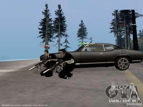 Black & White guns para GTA San Andreas segunda tela