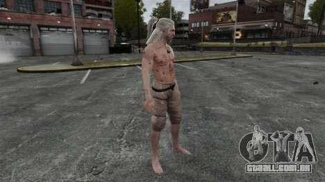 Geralt de Rivia v5 para GTA 4 quinto tela