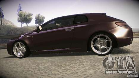 Alfa Romeo Brera Ti para GTA San Andreas esquerda vista