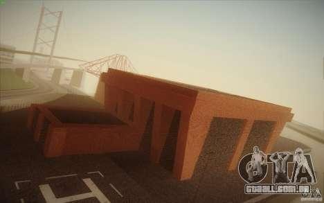New SF Army Base v1.0 para GTA San Andreas quinto tela