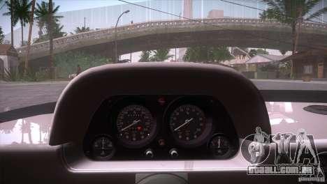 Ferrari F40 para GTA San Andreas vista inferior