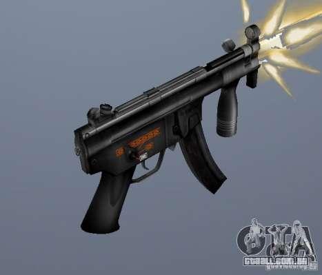 H&K MP5K para GTA San Andreas segunda tela