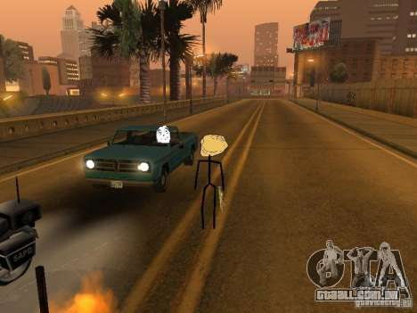 Meme Ivasion Mod para GTA San Andreas oitavo tela