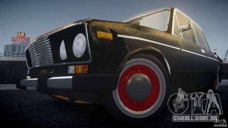 Vaz 2106 Rat look para GTA 4 traseira esquerda vista