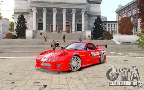 Mazda RX-7 Fast and Furious para GTA 4