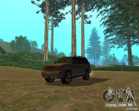 Cavalgada de GTA 4 para GTA San Andreas