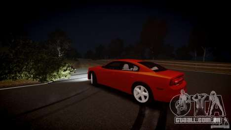 Dodge Charger R/T 2011 Max para GTA 4 vista lateral