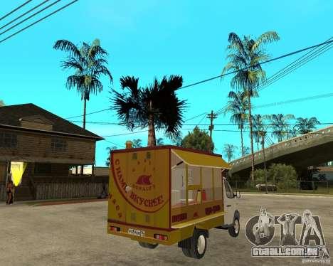 Gazela Gaz-3302 Grill para GTA San Andreas