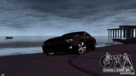 Ford Shelby Mustang GT500 2011 v2.0 para GTA 4