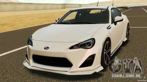 Subaru BRZ Rocket Bunny Aero Kit para GTA 4