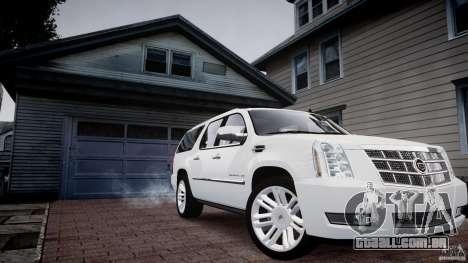 Cadillac Escalade ESV para GTA 4