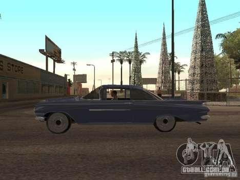 Chevrolet Biscayne 1959 para GTA San Andreas vista interior