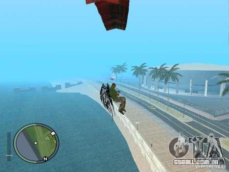 Asas-as asas para GTA San Andreas quinto tela