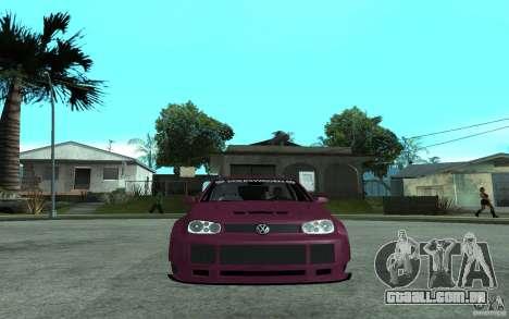 Volkswagen Golf GTI 4 Tuning para GTA San Andreas vista direita