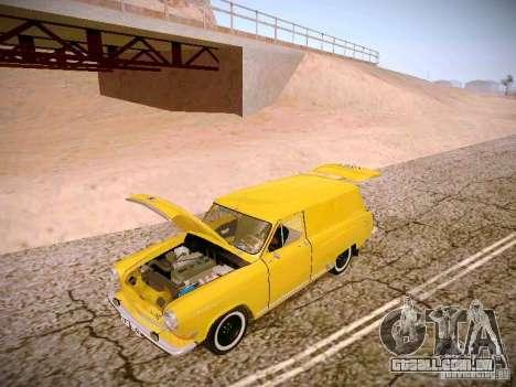 Van de gás 22B para vista lateral GTA San Andreas