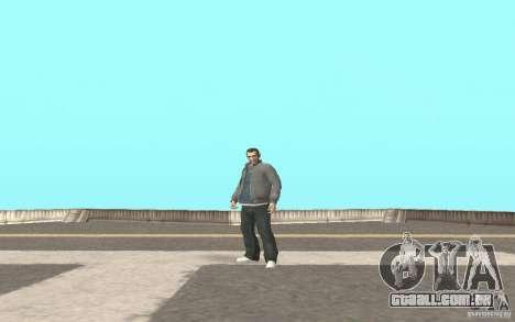 Animação de GTA IV para GTA San Andreas