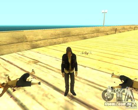 Alex Mercer ORIGINAL para GTA San Andreas terceira tela
