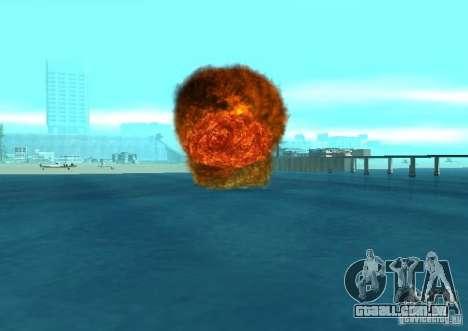 Novos efeitos de explosões para GTA San Andreas décima primeira imagem de tela