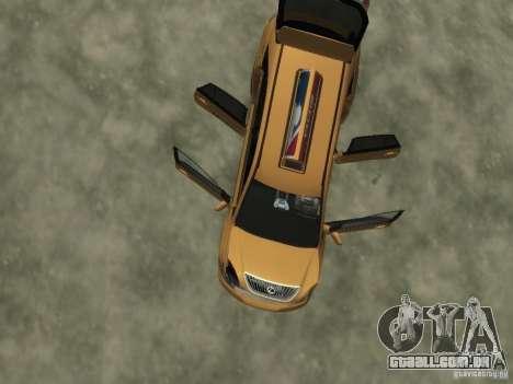 Lexus RX400 New York Taxi para GTA 4 rodas