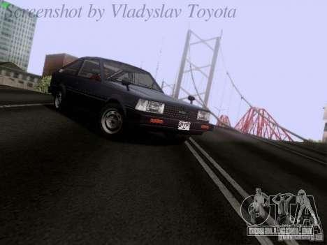 Toyota Corolla TE71 Coupe para GTA San Andreas