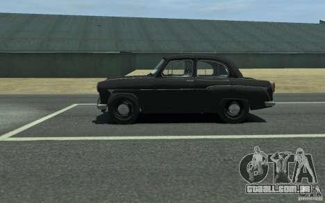 407 Moskvitch v 2.0 para GTA 4 esquerda vista
