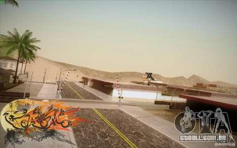 New Roads Las Venturas v1.0 para GTA San Andreas quinto tela