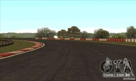 Faixa GOKART rota 2 para GTA San Andreas décimo tela