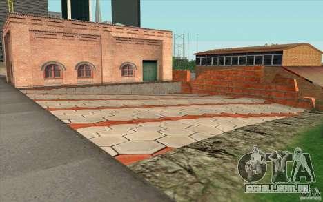Corpo de bombeiros para GTA San Andreas terceira tela