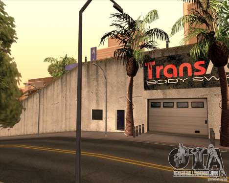 Um negociante de carros Wang para GTA San Andreas por diante tela