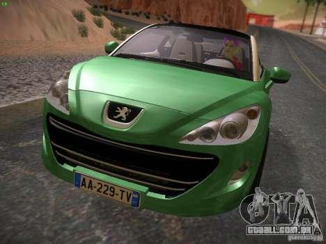 Peugeot RCZ 2010 para GTA San Andreas