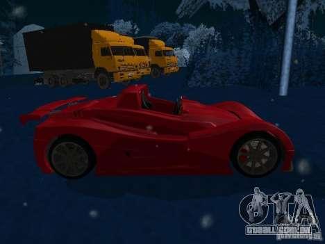 Lada Revolution para GTA San Andreas esquerda vista