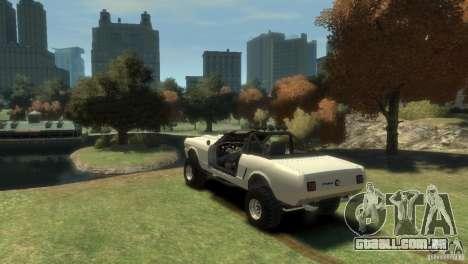 Ford Mustang Sandroadster 1.0 para GTA 4 esquerda vista