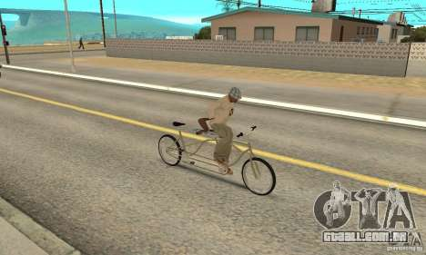 double classic MT Bike para GTA San Andreas vista direita