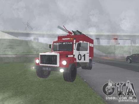 GAZ 3309 fogo para GTA San Andreas