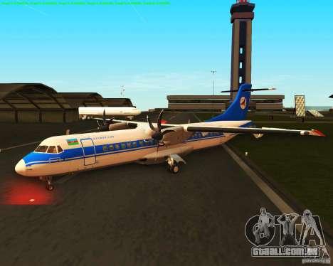 ATR 72-500 Azerbaijan Airlines para GTA San Andreas