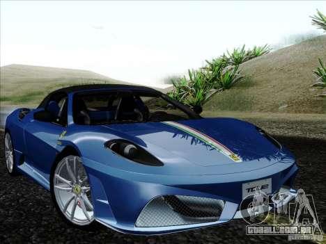 Ferrari F430 Scuderia Spider 16M para o motor de GTA San Andreas