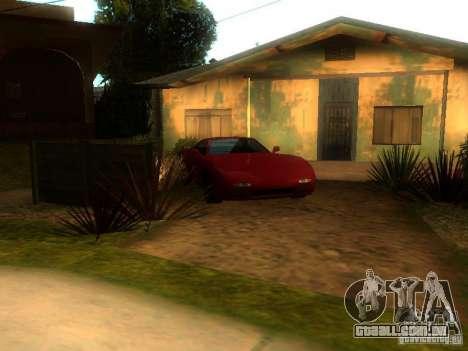 New Car in Grove Street para GTA San Andreas segunda tela